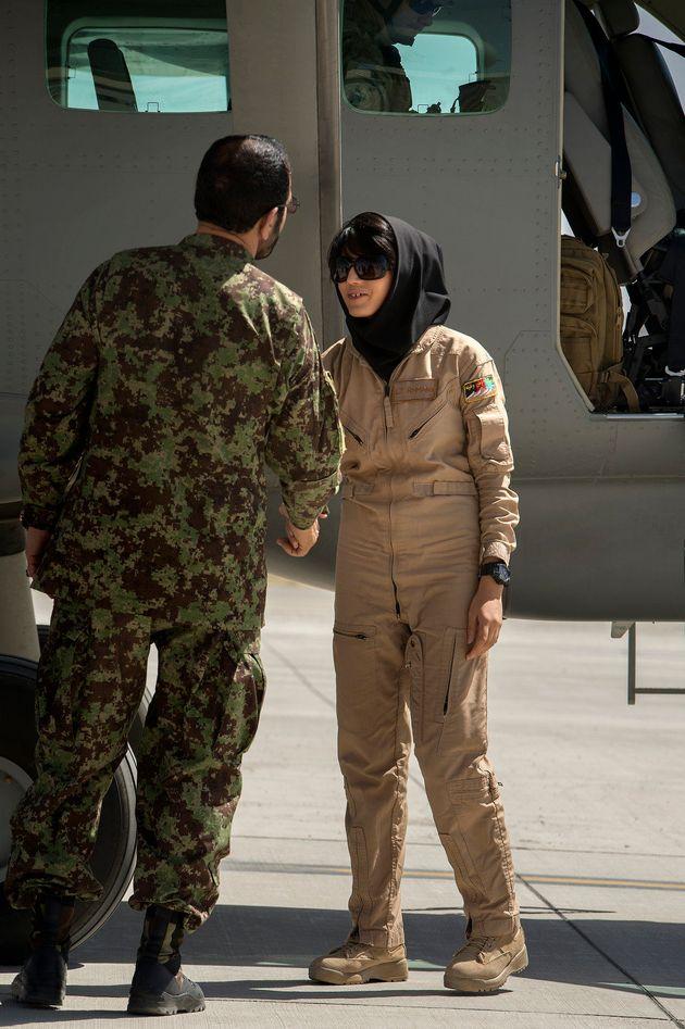 Top Gun: Meet Afghanistan's First Female Air Force Pilot Since The Fall Of