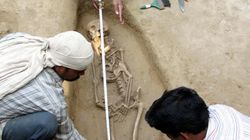 Four Harappan-Era Skeletons Found In