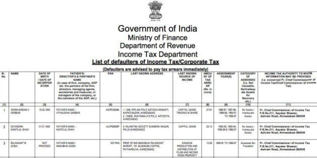 Here Are India's Top 31 Tax