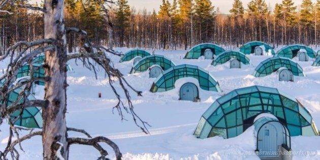 The Arctic Dream--Sleeping Under The Stars in
