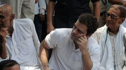 Rahul Gandhi Meets With Farmers Ahead Of Kisan