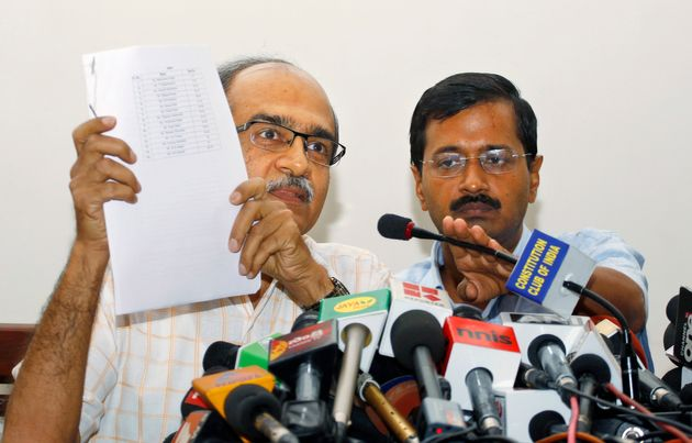 Aam Aadmi Party Expels Founding Leaders Prashant Bhushan, Yogendra Yadav For 'Gross