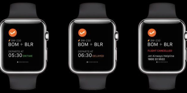 Cleartrip For Apple Watch Brings Travel Details To Your