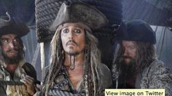 Ahoy! First Look Of Cap'n Jack Sparrow In 'Pirates 5' Is