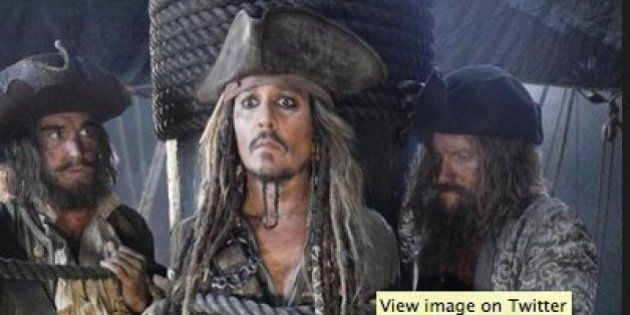 First Look Of Captain Jack Sparrow In 'Pirates Of The Caribbean: Dead Men Tell No Tales' Is