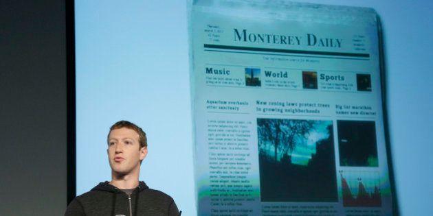 Facebook CEO Mark Zuckerberg speaks at Facebook headquarters in Menlo Park, Calif., Thursday, March 7,...