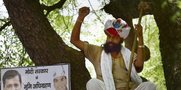 Farmer Suicide At AAP Kisan Rally Starts Political Blame