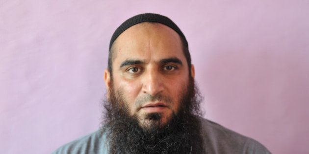 This file photo shows Masarat Alam, a hardline Muslim separatist, in an undisclosed location. On October...