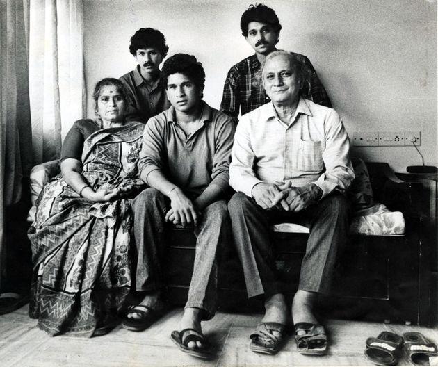 Happy Birthday Sachin Tendulkar: Vintage Photos Of The Nation's Most Loved Sports Star Who Turns