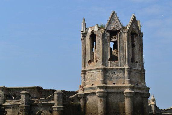 The Peek-A-Boo Church Of Gorur