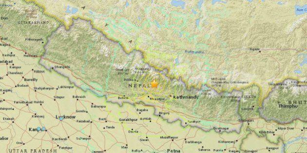 Major Earthquake Hits Nepal, Heavy Damage