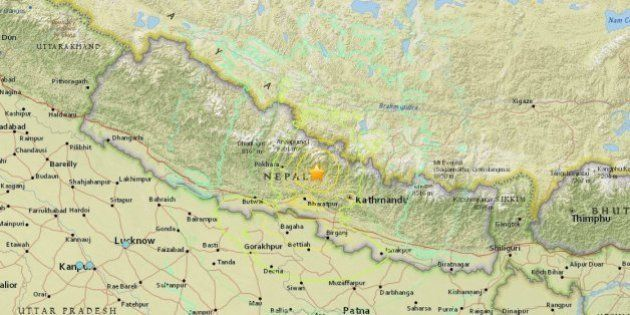 Big Earthquake In Nepal, Widespread Panic As Tremors Rock