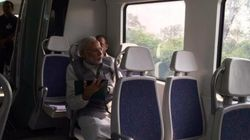 PM Modi Rides The Delhi Metro, Asks People To Rely More On Public