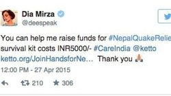 Bollywood Puts Forces Behind Fundraising For Quake-Hit