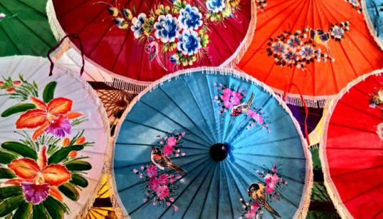 Photoblog: Unfurling The Umbrellas Of Chiang