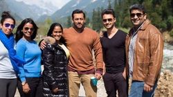 Salman Khan Gets Surprise Visit From Sister Arpita On The Sets Of 'Bajrangi