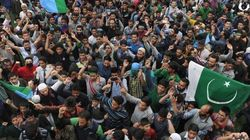 Pakistan Flags Waved At Geelani's Rally In