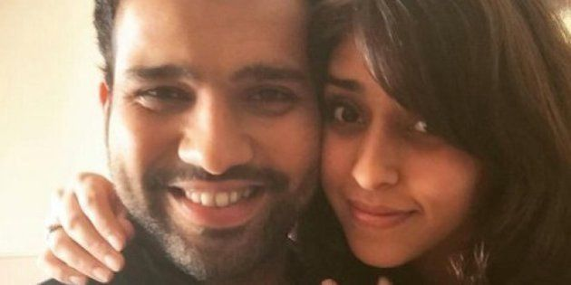 Cricketer Rohit Sharma Is All Mushy On Twitter About His Engagement To BFF Ritika