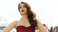Aishwarya's Wine-Red Oscar De La Renta Is To Die