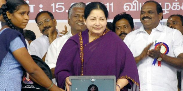 Leader of All India Anna Dravida Munnetra Kazhagam (AIADMK) party and Chief Minister of the southern...