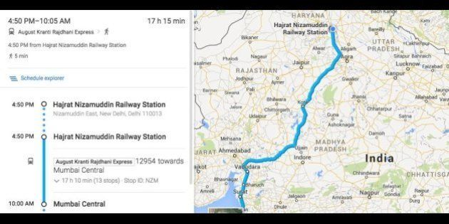 Now, Get Indian Railways Schedules On Google