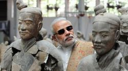 Dark Shades And #ModiSwag Inside China's Terracotta Warriors Museum Has Twitter In