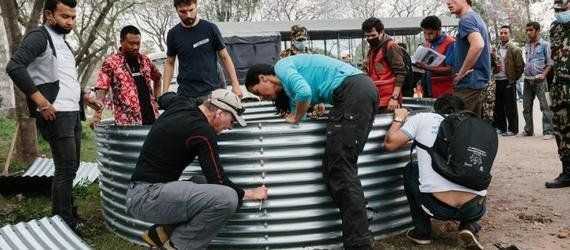 With Crowdfunding, Nepal Has Helping Hands Across The