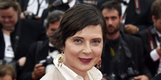 Italian actress and director and President of the Un Certain Regard Jury Isabella Rossellini poses as...