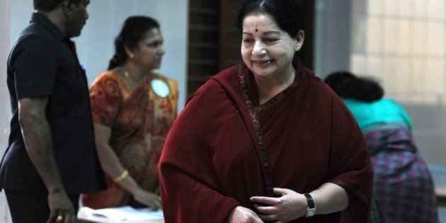 All India Anna Dravida Munnetra Kazhagam (AIADMK) Leader and Chief Minister of the southern Indian state...