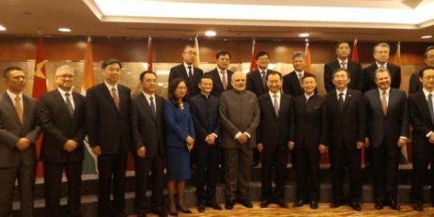 Modi In Shanghai Tells Chinese CEOs To 'Make In
