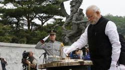 PM Arrives In South Korea On Final Leg Of 3-Nation