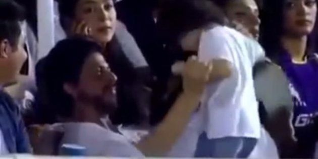 WATCH: Shah Rukh Khan Makes Son AbRam Dance To 'Ooh La