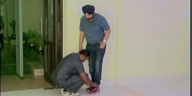 West Bengal Minister Makes Police Bodyguard Tie His Shoelace, Sparks