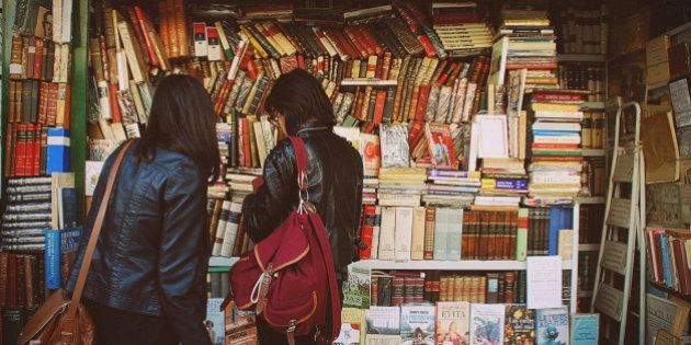 Friends with books. Argentina, Buenos