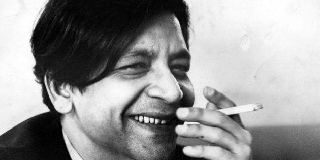 9th November 1968: Vidiadhar Surajprasad Naipaul, West Indian novelist. (Photo by John Minihan/Evening...