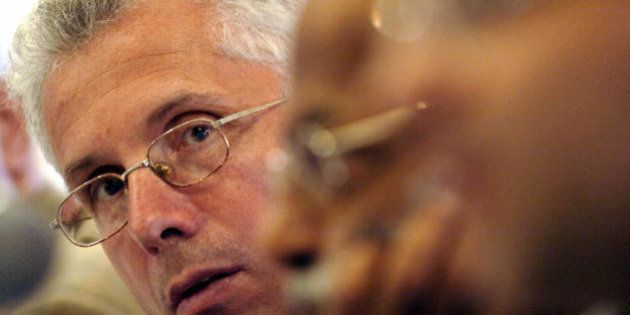 MUMBAI, INDIA: Jet Airways CEO Wolfgang Prock-Schauer listens to a question at a press conference in...