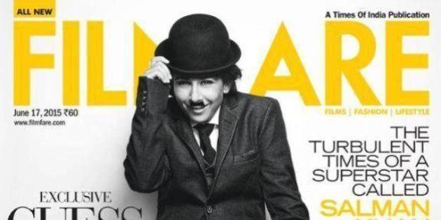 Vidya Balan Pays Tribute To Charlie Chaplin On Filmfare