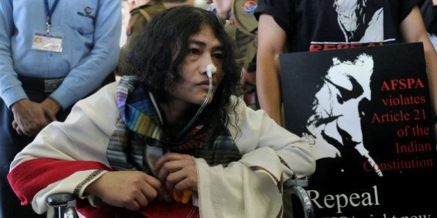 Social activist from Manipur, Irom Sharmila, who has been on a fast for 12 years demanding the repeal...