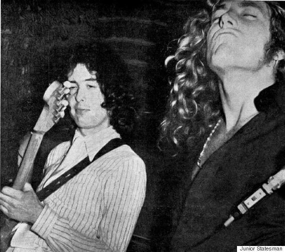 LISTEN: When Led Zeppelin Once Recorded With Indian Musicians In