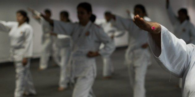 TO GO WITH INDIA-SOCIAL-WOMEN-CRIME, FEATURE BY ABHAYA SRIVASTAVAIn this photograph taken on January...
