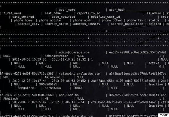 Ola Cabs Denies Hacking Incident, Says Claim On Reddit Thread False