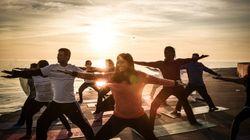 PHOTOS: 50 Cities Across The World Greet The Sun With Yoga Before International Yoga