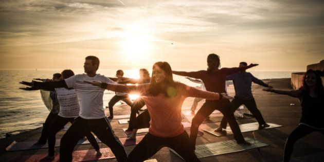 PHOTOS: 50 Cities Across The World Greet The Sun With Yoga Before International Yoga