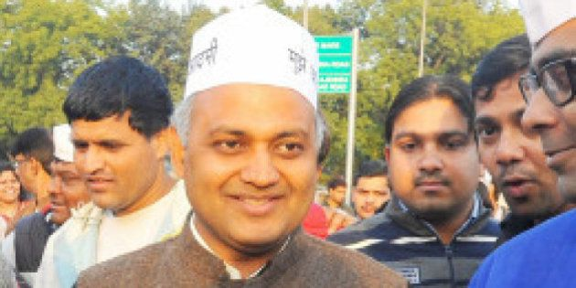 AAP leader Somnath Bharti's Wife Accuses Him Of Domestic Violence Since