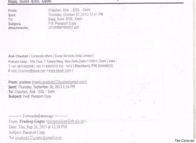 Essar Emails Suggest Pressure From Pranab Mukherjee To Hire Family And