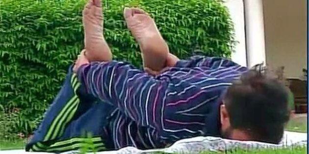 I&B Minister Prakash Javadekar Does Yoga At Home, Becomes Hilarious Internet