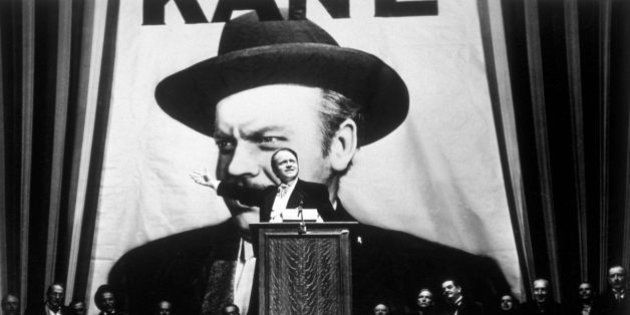 1941: Orson Welles takes the lead role in his film 'Citizen Kane', directed by himself for RKO. (Photo...