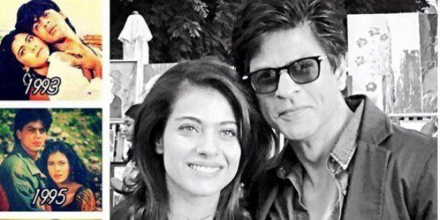 Shah Rukh Khan Goes Nostalgic Over Kajol On