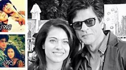 Shah Rukh Khan Goes Nostalgic Over Kajol On
