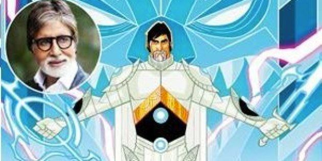 Amitabh Bachchan To Play A Toon Superhero For An Upcoming Animated TV